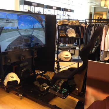 Full Motion Flug Simulator 4