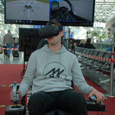 Virtual Reality Flug Simulator 1