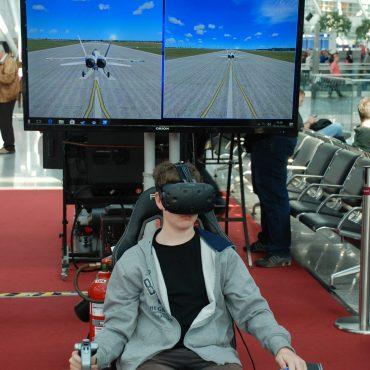 Virtual Reality Flug Simulator 2
