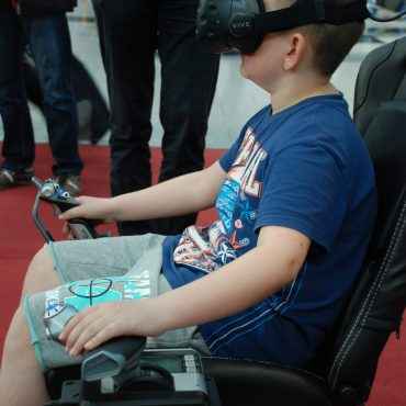 Virtual Reality Flug Simulator 6