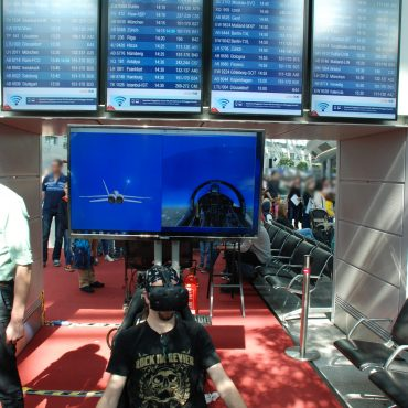 Virtual Reality Flug Simulator 7