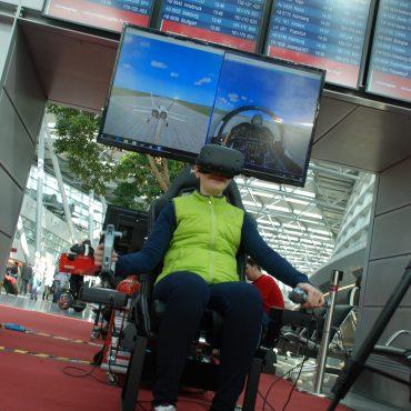 Virtual Reality Flugsimulator 4